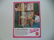 advertising Pubblicità 1979 BARBIE MATTEL
