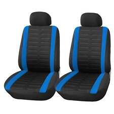 Coprisedili Anteriore Blu Universali Auto Fodere Set Copri-sedile Universale