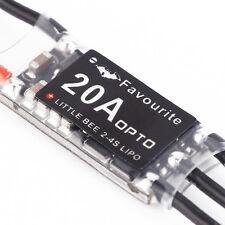 Mini 20A 2-4S LiPo Battery OPTO ESC Brushless For Littlebee Little Bee QAV250 US