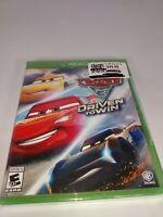 Cars 3: Driven to Win (Microsoft Xbox One, 2017)