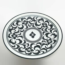 Dansk Black & White Serving Platter Plate 12""