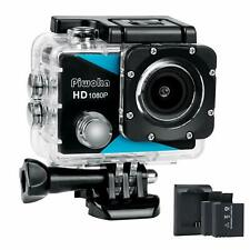 Full HD Sport Camera 12MP Underwater Camcorder Battery Charging