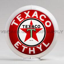 """Gas Pump Globe Texaco Ethyl 13.5"""" (G194)"""