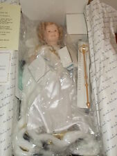 "1991 DANBURY MINT SHIRLEY TEMPLE ""LITTLE PRINCESS"" 19"" DOLL IN BOX WITH COA"