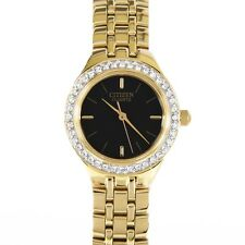 Brand New CITIZEN EJ6042-56E Womens Analog Display Japanese Quartz Gold Watch