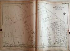 1909 G.W. Bromley Astoria, Corona, East Elmhurst Queens, Long Isand Ny Atlas Map