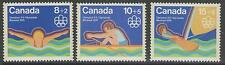 CANADA SG798/800 1975 OLYMPIC GAMES MNH