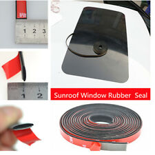 Universal 118inch Car Window Rubber Seal Sunroof Glass Panel Strip Moulding Trim