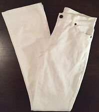 Citizens Of Humanity COH Amber Stretch Jeans White High Rise Bootcut Size 25