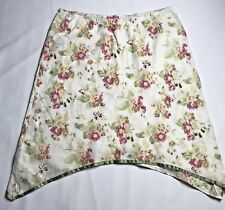 Annette B Maternity A-Line Skirt Womens Size Large Floral Cream