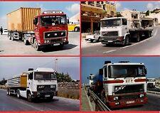 Malta Transport ~ 4 ERF Artics: Set 1 - Container: Flatbeds: Tanker - late 1990s