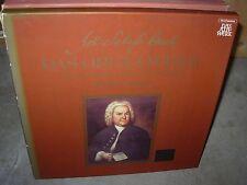 CHAPUIS / BACH organ works vol 5 ( classical ) box telefunken germany