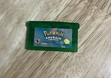 GameBoy Advance Pokemon Emerald Game, Instruction Booklet, And Poster
