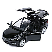 Tesla Model X 90D SUV 1:32 Alloy Diecast Car Model Toy Vehicle Collectible Gift