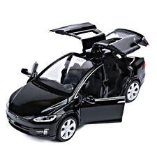 Tesla Model X 90D SUV 1:32 Alloy Diecast Car Model Toy Vehicle Boys Gift Black