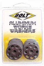 Works Factory Aluminum Washers CRF RM KX YZ KTM 125 250 450 Fastners/Hardware