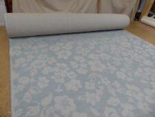 Next Fabrics - TEAL - Tonal Jacquard - Floral Weave Upholstery Fabric