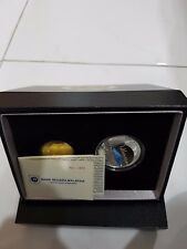 Malaysia Golden Jubilee Masjid Negara 2015 Silver Proof Coin set of 2