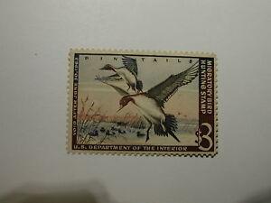 U.S. Stamp Scott #RW29 US Department of Interior $3 Migratory Bird Hunting St...