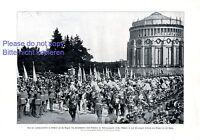 Jahrhundertfeier in Kehlheim XL Fotoabb. 1913 Kaiser Wilhelm Prinzregent Ludwig