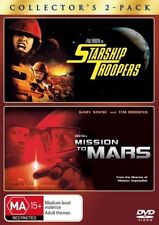 Starship Troopers  / Mission To Mars (DVD, 2008, 2-Disc Set)