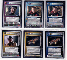 Star Trek CCG HoloDeck Complete Set Mint Unplayed Includes Ultra Rare Dixon Hill