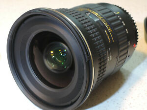 Tokina AT-X PRO FX 17-35 f/4.0 (IF) FX  - Canon mount