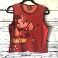 VTGDisney Mickey Unlimited Jerry Leigh Mickey Mouse Womens Tank/Sleeveless Shirt