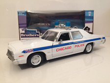Blues Brothers 1975 Dodge Monaco Chicago Police Department 1:24 Scale