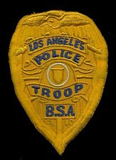 LAPD Los Angeles Police Troop BSA Boy Scout of America Badge Patch S-24