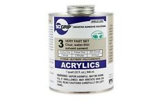 SCIGRIP Weld-On #3 Clear Acrylic Glue 473ml Water-thin Cement Quick Dry