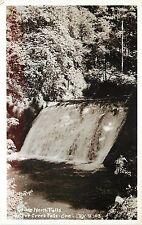 RPPC Postcard; Lower North Falls, Silver Creek Falls OR Marion County PV P-103