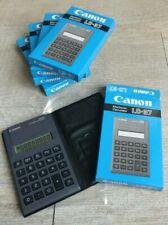 Calculatrice vintage Canon LC-37 électronic calculator  boîte d'origine ancienne
