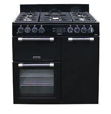 Leisure Cookmaster CK90F232K Dual Fuel Range Cooker in Black 90cm 5 Burners 1434