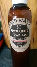 Uwharrie Soap Beard Wash Cavendish Pipe Tobacco Scented! Free Shipping!