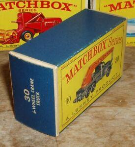 Matchbox 30c Magirus-Deutz Crane Truck Very Near Mint Box