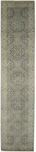 3X12 Floral Oushak Chobi Oriental Runner Rug Hallway Home Decor Carpet 2'7X11'9