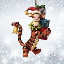 Tigger Hanging Ornament  Jim Shore Disney Traditions Tiger  Winnie Pooh A27552