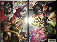 MARVEL Age Of X-men #1 Lee Inhyuk Connecting Covers Complete Set NM