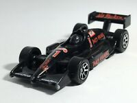 Hot Wheels 1997 No Fear Racer Black Red #1 Indy Car Malaysia Loose