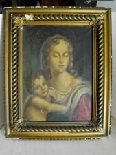 """ANTIQUE ITALIAN OLD MASTER PAINTING """"Madonna with Child""""18th. century"""