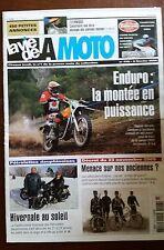 LVM - La Vie de la Moto n°418; 9/02/2006; Enduro à l'ancienne/ Construire Bitza