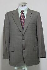CANALI Made in ITALY Men's Pure Wool Plaid Blazer Sport Coat Jacket Sz 56 R EUC