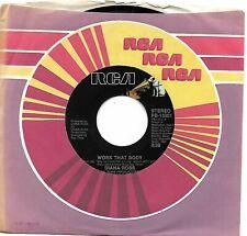 ROSS, Diana  (Work That Body)  RCA PB-13201