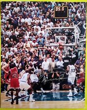 Michael Jordan/Chicago Bulls 8X10 Auto Signed Framed Photo W/COA *The Last Shot*