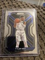 2020-21 Panini Prizm Basketball Tyler Bey Base Rookie #251 Dallas Mavericks RC