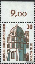 Berlin (West) 793A Oberrandstück postfrisch 1987 Sehenswürdigkeiten