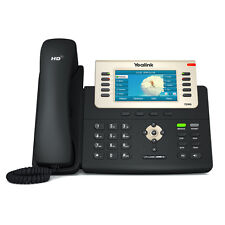 Yealink SIP-T29G: 16 Line HD IP Phone w/ PoE & PS - VoIP - 1 MONTH FREE SERVICE