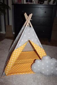 🐶Dogs, 🐈cats teepee, 🐾pets play house 🐾handmade tipi with mat🥰