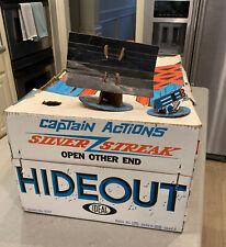 Ideal Captain Action Holy Grail Silver Streak Hideout Sears Exclusive Super Rare